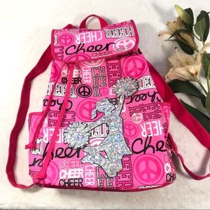 Justice Pink Cheer Backpack